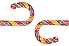 Colorful candy canes Stock Photo