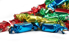 Colorful candy close up Stock Images