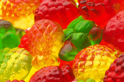 Colorful candy close-up. Heap of colorful candy close-up Stock Photos