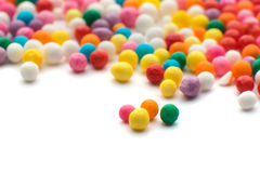 Colorful candy confetti Royalty Free Stock Photography