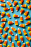 Colorful Candy Corn for Halloween Royalty Free Stock Photos