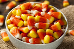 Colorful Candy Corn for Halloween Royalty Free Stock Image