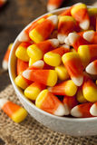 Colorful Candy Corn for Halloween Stock Images