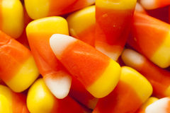Colorful Candy Corn for Halloween Royalty Free Stock Photography