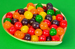 Colorful Candy Dish Royalty Free Stock Photos