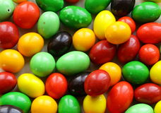 Colorful candy drops Royalty Free Stock Images