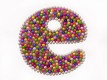 Colorful Candy e Symbol for Internet Stock Images
