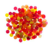 Colorful candy faces Stock Images