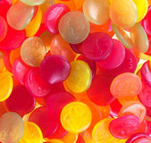 Colorful candy faces Royalty Free Stock Photography