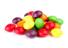 Colorful candy isolated on white. Background Royalty Free Stock Image