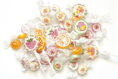 Colorful candy lollipops Stock Image