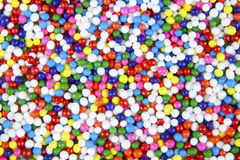 Candy Nonpareils Colors and Textures Stock Image