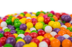 Colorful candy peas Stock Photos