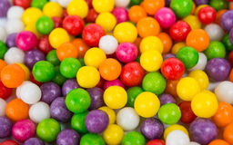 Colorful candy peas Stock Photo