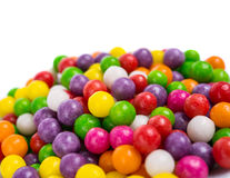 Colorful candy peas Stock Photography