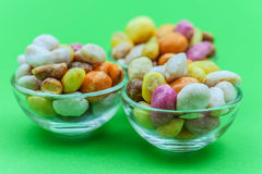 Colorful candy-shivering Royalty Free Stock Photography