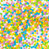 Colorful Candy sprinkles Stock Photography