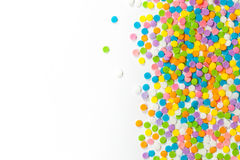 Colorful Candy sprinkles Royalty Free Stock Photo