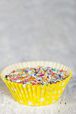 Colorful candy sprinkles Stock Image