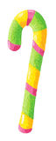 Colorful candy stick Stock Images
