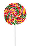 Colorful candy on a stick Stock Photography