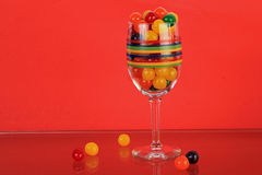 Colorful Candy Still Life Stock Images