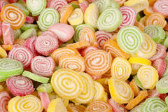 Colorful Candy With Sugar On Top Stock Images