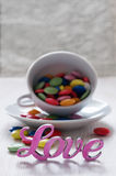 Colorful candy Stock Images