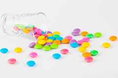 Colorful of candy Stock Photography