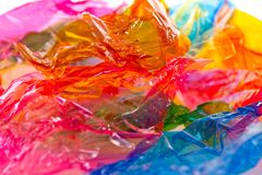 Colorful candy wrapper. Lot of colorful candy wrapper Royalty Free Stock Photography
