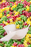 Colorful candys market Royalty Free Stock Photography