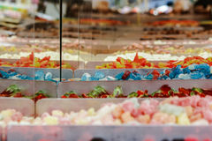 Colorful candys market Stock Photography
