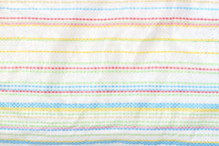 Colorful canvas sack texture stock photography