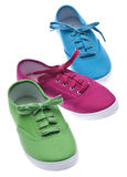 Colorful Canvas Shoes Royalty Free Stock Photo