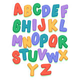 Colorful Capital Letter Set Royalty Free Stock Photo