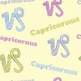 Colorful Capricornus Stock Photography