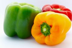 Colorful Capsicum Royalty Free Stock Photos