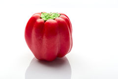 Colorful capsicum. On white background Royalty Free Stock Images