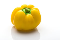 Colorful capsicum. On white background Royalty Free Stock Image