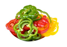 Colorful capsicums Royalty Free Stock Image