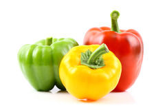 Colorful capsicums Royalty Free Stock Photography