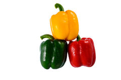 Colorful Capsicums Royalty Free Stock Photos