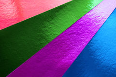 Colorful card Stock Image