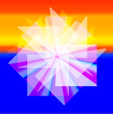Colorful card with mandala. Stock Photos