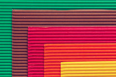 Colorful cardboard texture Royalty Free Stock Photos