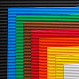 Colorful cardboard texture Stock Photography