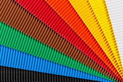 Colorful cardboard texture Royalty Free Stock Photography