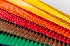 Colorful cardboard texture Stock Photos