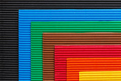 Colorful cardboard texture Royalty Free Stock Image