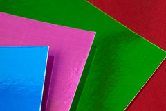 Colorful cards Royalty Free Stock Image